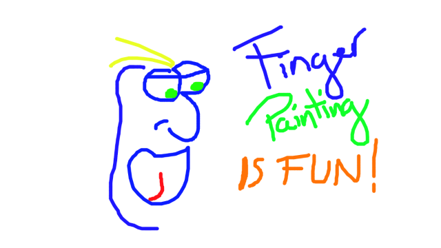 Screenshot 1 of Finger Painting