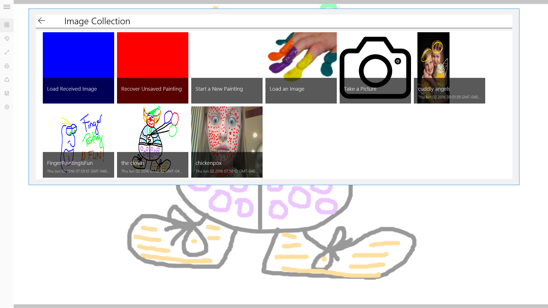 Screenshot 3 of Finger Painting
