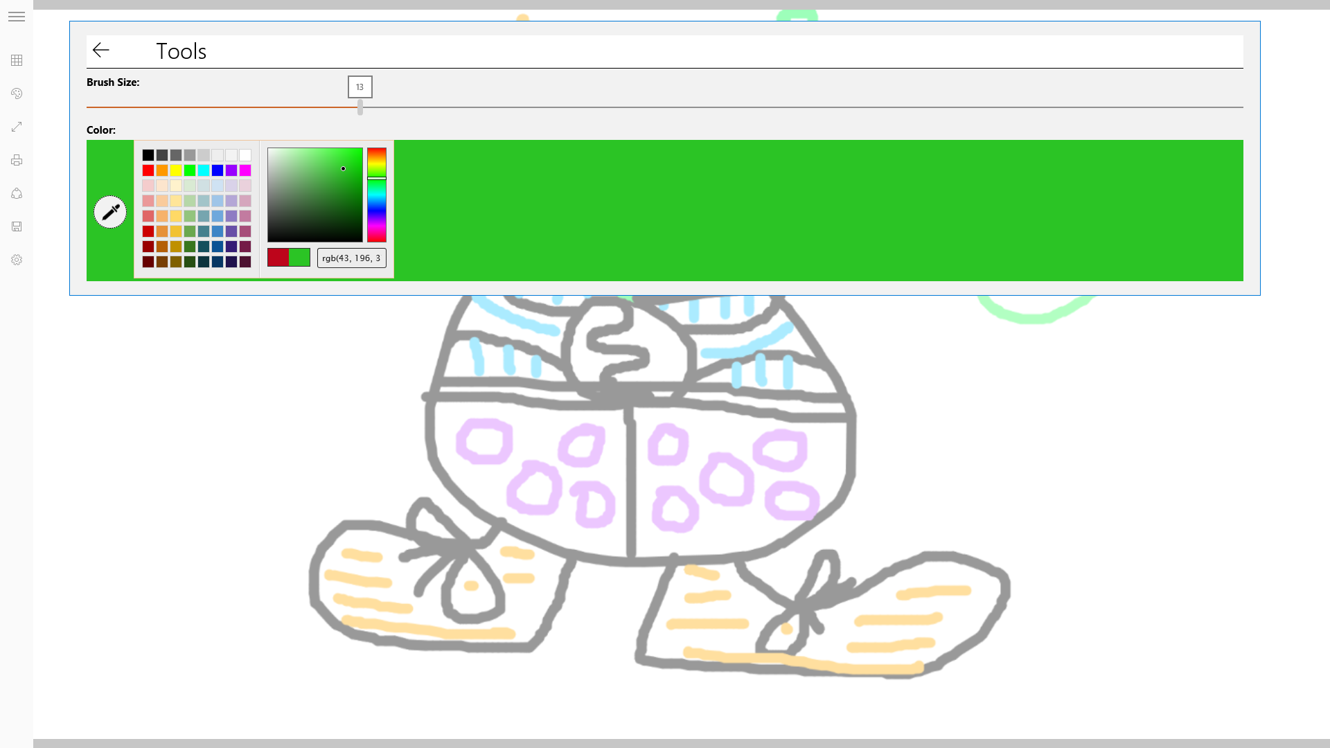 Screenshot 6 of Finger Painting