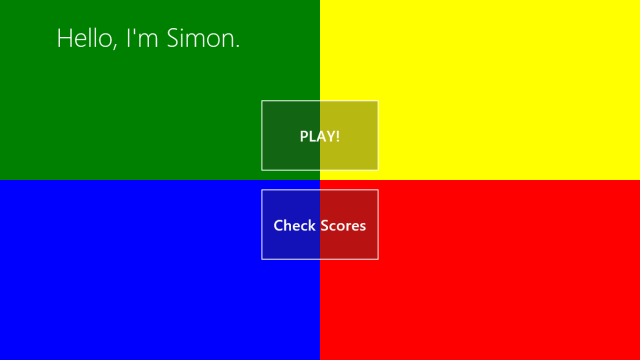 Screenshot 1 of Simon the Game